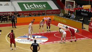 Luc van Slooten - Braunschweig at Gießen 46ers - 09.05.2021