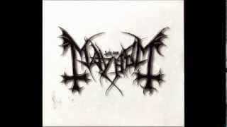 Mayhem - Grand declaration of war [Full Album]