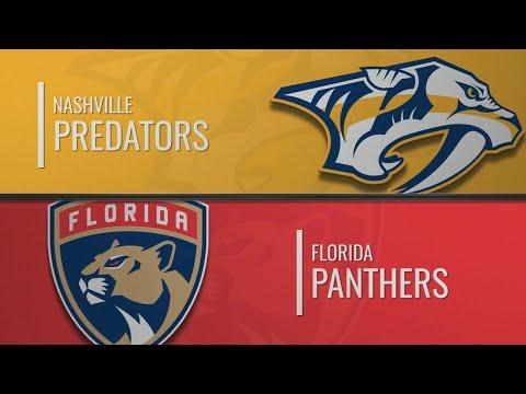Нэшвилл - Флорида Пантерз | НХЛ обзор матчей 30.11.2019 | Nashville Predators Vs Florida Panthers