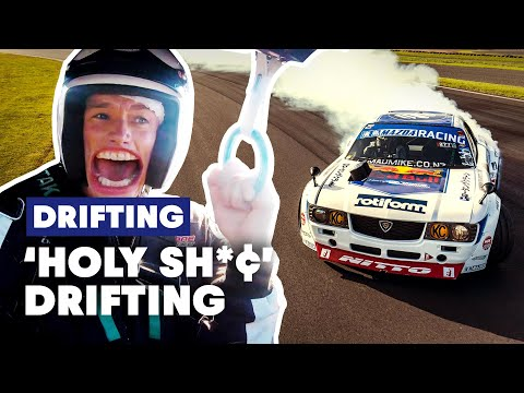 Mad Mike Whiddett Makes Rob Warner Scream For His Life In A Drift Car