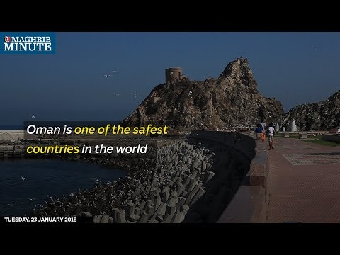 Oman is one of the safest countries in the world