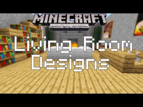 Full download minecraft living room designs ideas for Minecraft living room ideas xbox