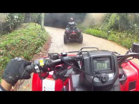 Trilha de Quadriciclo Honda fourtrax , Can am 800 ,  can am 400 cantareira Parte 2/7