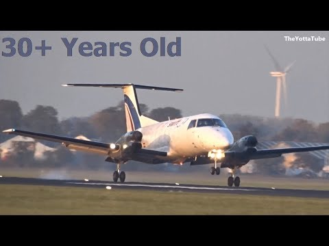 Swiftair - Embraer 120 FC Brasilia - Lands at AMS (EC-GQA)