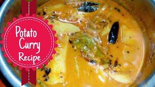 Alu Carrot Spicy Kulambu || Quick Tasty Recipe