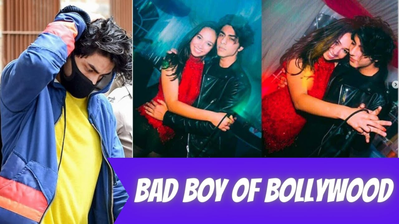Bad boy of bollywood  Aryan Khan drugs case 