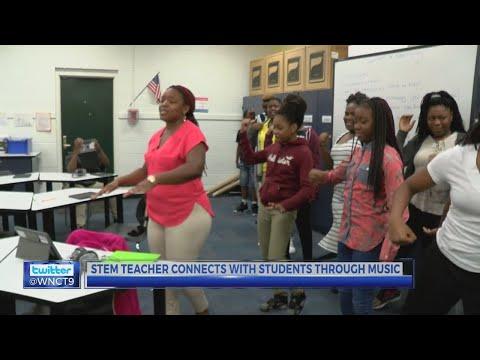 Kinston Teacher Cardi B Challenge