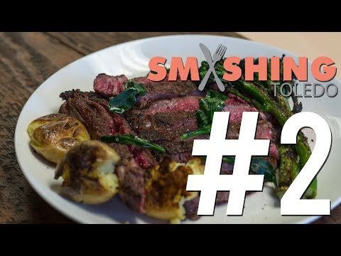 Grilling A Bone In Ribeye Steak With Chef Omar Episode 2