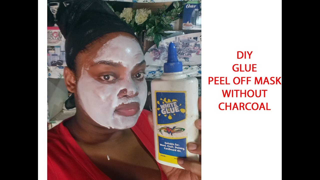 Diy glue peel off mask without charcoal youtube diy glue peel off mask without charcoal solutioingenieria Gallery