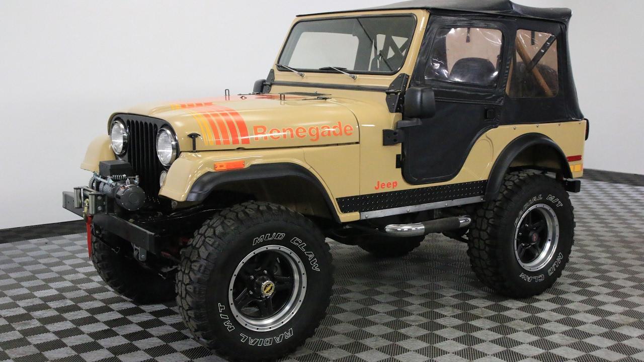 1977 jeep renegade [ 1280 x 720 Pixel ]