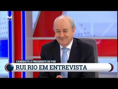 Rui Rio - Entrevista na TVI (16 de janeiro de 2020)
