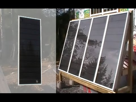 how to create a solar furnace
