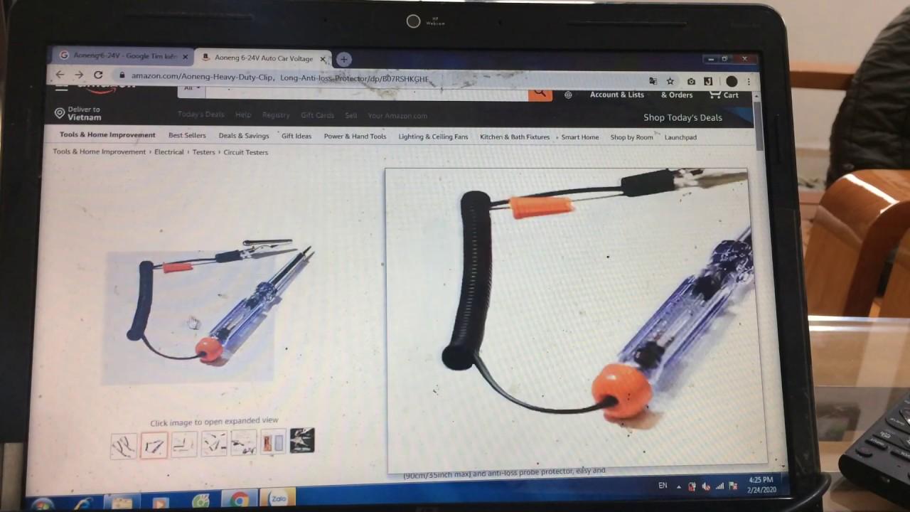Hướng dẫn làm bút thử điện sửa chữa ô-tô xe máy