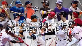 MLB Season Preview and Predictions 2018