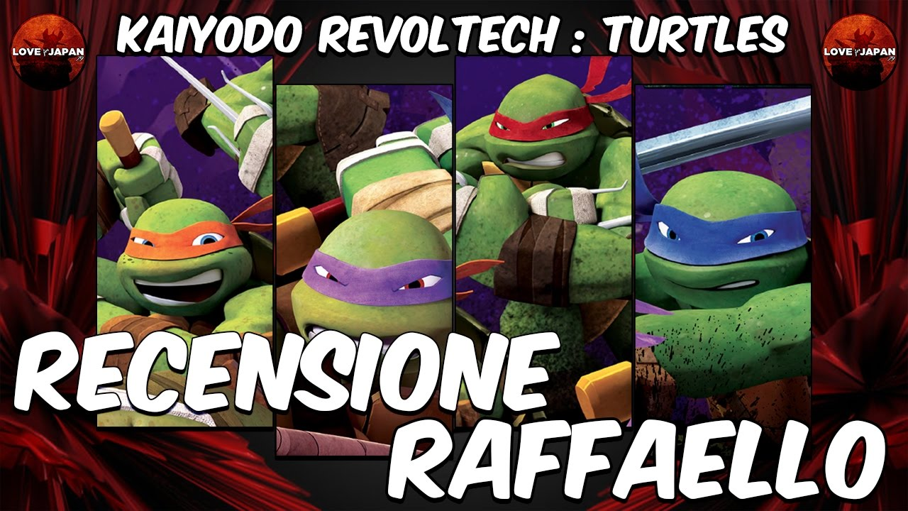 "Revoltech /""Raffaello/"" Mutant Ninja Turtles"