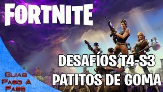 Fortnite (Battle Royale) | Desafíos semana 3: Localización Patitos de goma