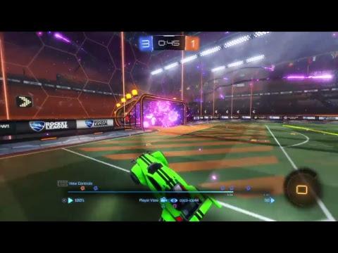 Rocket league double touch