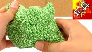 超级 炫酷 手工 DIY 制作 材料 FOAM CLAY 珍珠 粘土 彩泥 橡皮泥 泡沫 森林 绿色 开箱 展示