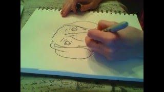 Drawing a Dachshund Dog! RoxyandStuff!