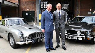 The Names Charles... Prince Of Wales Tours New James Bond 007 #Bond25 Film Set!