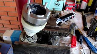 Chevrolet Niva 4х4 Шевроле Нива 2012 года Замена шруса карданного вала