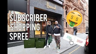 TAKING A SUBSCRIBER SHOPPING AT GUCCI! (THANK YOU FOR 100K!)