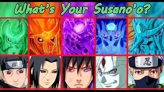 WHAT IS YOUR SUSANO'O? | NARUTO TEST