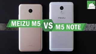 Meizu M5 versus the M5 Note - budget smartphone review