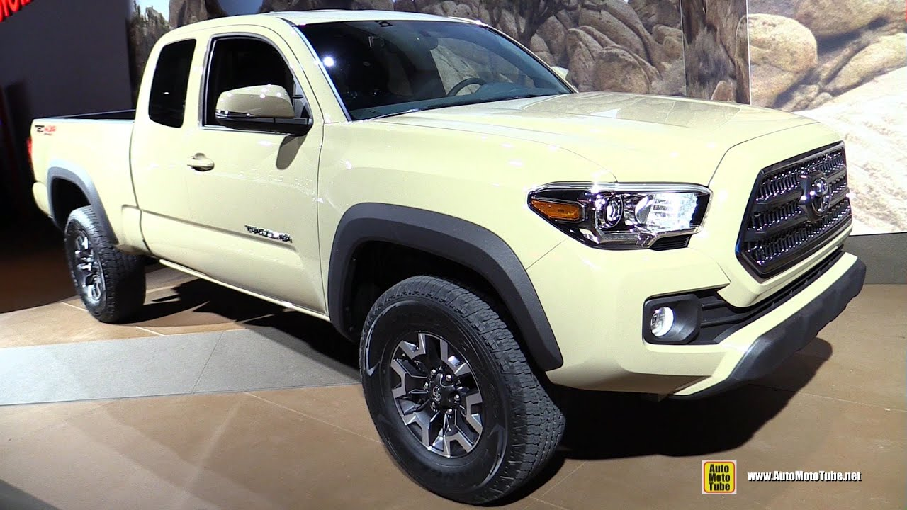 2016 Toyota Tacoma V6 TRD 4x4 Off Road - Exterior and ...