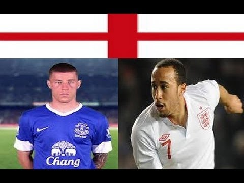Townsend TOT) and Barkley (EVE)   New player of ENGLAND FOOTBALL TEAM