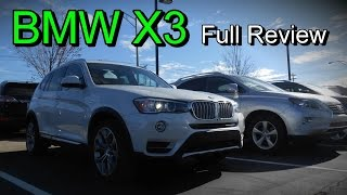 2016 BMW X3: Full Review | X3 28i, 28d, 35i & xDrive