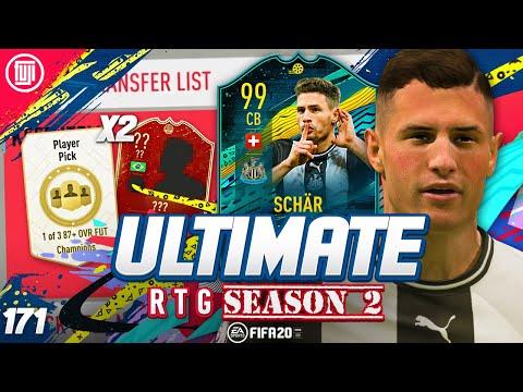 *BONUS* PLAYER PICKS!!!! ULTIMATE RTG #171 - FIFA 20 Ultimate Team Road to Glory