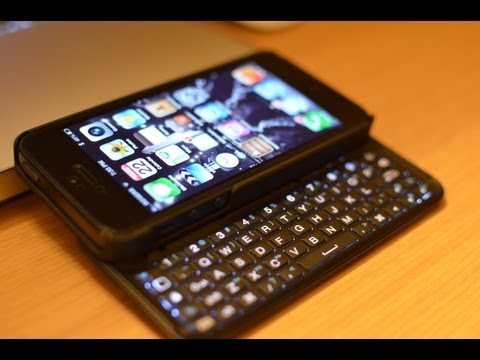BEST Keyboard Case for  iPhone 5/5S! - Boxwave Keyboard buddy Case Backlit Edition - indepth Review