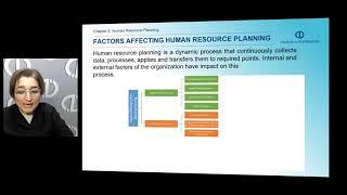 Define human resource planning explain factors that affect