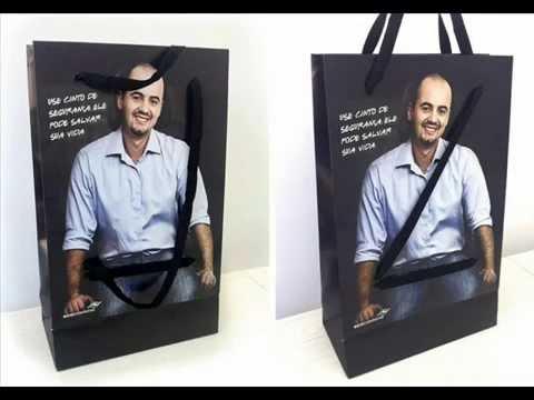 Design Paper Bag Unik Kreatif
