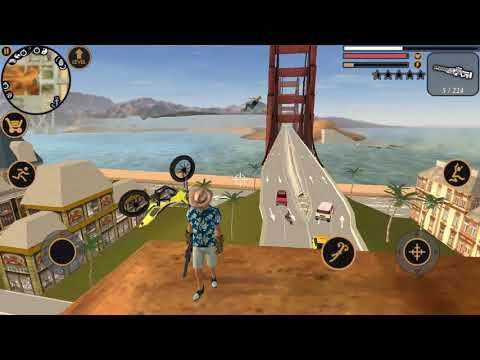 ► Vegas Crime Simulator #42 | Naxeex LLC | VEGAS ROPE HERO OPEN WORLD car blast city robot crime