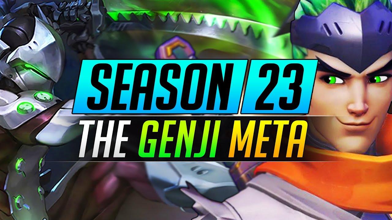 NEW Overwatch Meta is HERE - GENJI EVERYWHERE - Season 23 Tips and Tricks - Overwatch Update Guide