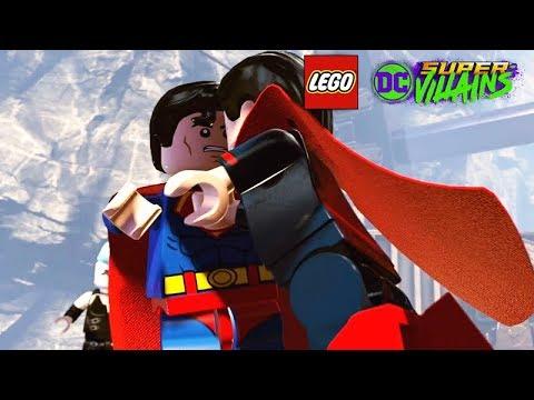 SUPERMAN vs ULTRAMAN Boss Fight (LEGO DC Super-Villains)