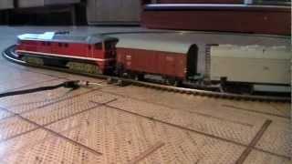Модель поїзда 1:87 PIKO. Зроблено в НДР 1982 р.