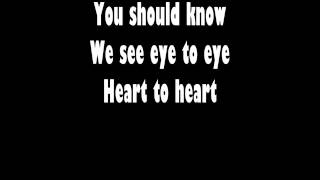 Heart To Heart -  James Blunt [LYRICS HD]
