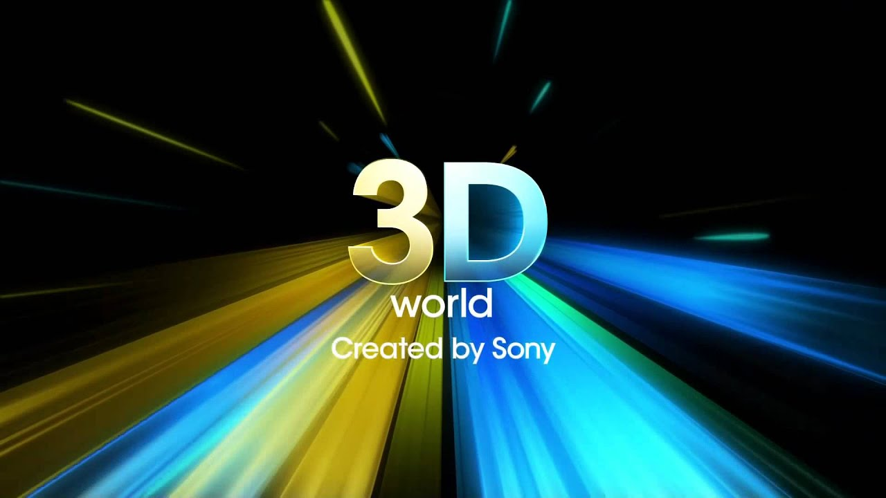 3D World Created by Sony Intro Video - YouTube