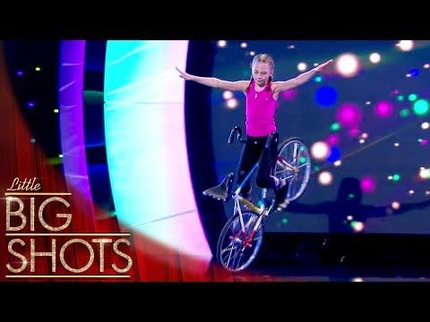 German Artistic Cyclist Ceyda | Little Big Shots