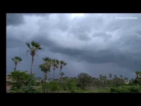Chuva avançando sobre Reriutaba-CE (15/01/2020)