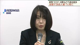 全国で新たに368人の感染 大阪などでも過去最多(20/04/05)