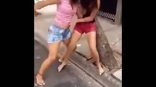 Girls Fighting Cat fight