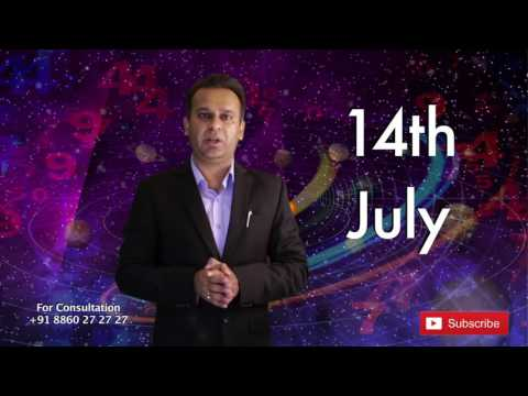 Astrological Prediction for the Person Born on 14th July | Astrology Planets
