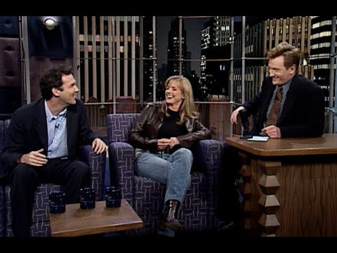 Norm Macdonald & Courtney Thorne-Smith   Late Night with Conan O'Brien