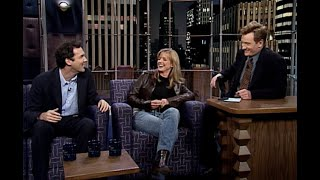 Norm Macdonald & Courtney Thorne-Smith | Late Night with Conan O'Brien