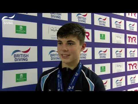 Matthew Dixon - Men's 10m Platform British Champion 2018