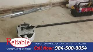 Garage Door Opener Installation in Raleigh NC